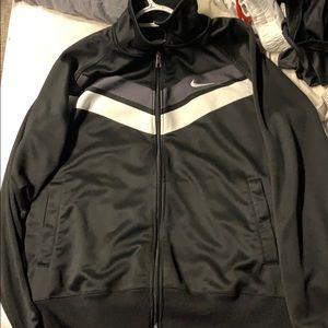 Men's XL Black Nike Zip Up Jacket